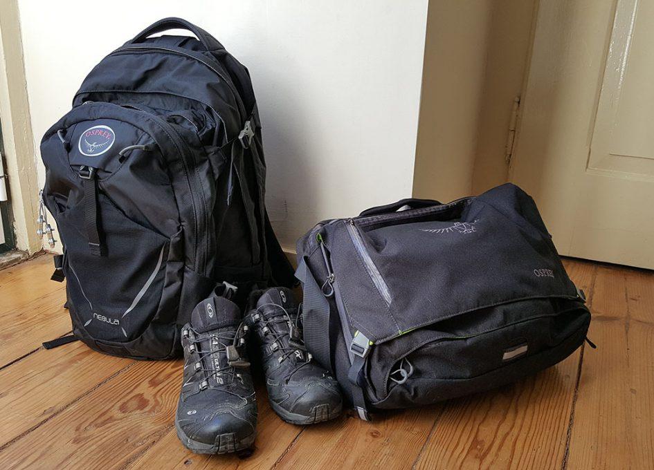 Digital nomad travel gear